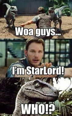 Star-Lord, man. Legendary outlaw. Guys?