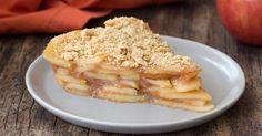 Healthy Upside-Down Apple Pie