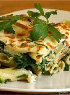 Low FODMAP Recipe and Gluten Free Recipe - Cheese & spinach penne http://www.ibssano.com/low_fodmap_recipe_cheese_spinach_penne.html