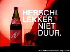 Herschi cola. In een GLAZEN fles! Dat is echt laaaaaang geleden.