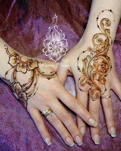 Hena Designs, Henna Tattoo Designs, Mehndi Designs, Mehndi Art, Henna Mehndi, Henna Art, Henna Body Art, Body Art Tattoos, Tribal Tattoos