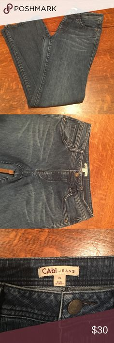 CAbi Jeans CAbi Jeans size 6 ......................... 🚭 - listings from a non-smoking home 📬 - fast shipping 💌 - Feel free to make an offer!  💯 - items as described, feel free to ask questions  🔍 - search my closet for other great listings!  🛍 - Happy Shopping! CAbi Pants Boot Cut & Flare
