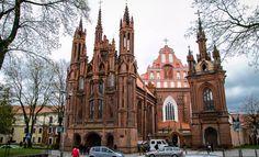 Wilno Lithuania, Notre Dame, Barcelona Cathedral, Building, Travel, Viajes, Buildings, Destinations, Traveling