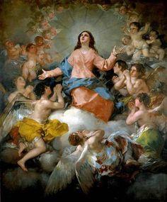 'La Asunción de la Virgen' del pintor Francisco Goya