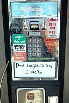 LOL OLD SCHOOL+ 35 CENTS FOR A CALL? Musta been the '80s hahahaha