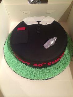 Referee theme cake