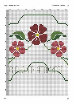 Cross Stitch Rose, Cross Stitch Borders, Cross Stitch Designs, Cross Stitching, Cross Stitch Embroidery, Prayer Rug, Filet Crochet, Needlework, Diy And Crafts