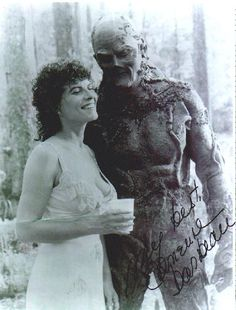 Adrienne Barbeau from Swamp Thing really bad movie Sexy Horror, Sci Fi Horror, Horror Art, Horror Movies, Swamp Thing Movie, Swamp Thing 1982, Adrienne Barbeau, Scary Photos, Best Bond