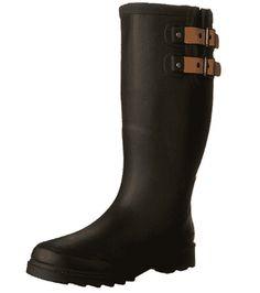 Chooka Women's Waterproof Solid Tall Rain Boot - Women's Rain Boots Amazing Women, Rubber Rain Boots, Shoes, Fashion, Moda, Zapatos, Shoes Outlet, Fashion Styles, Shoe