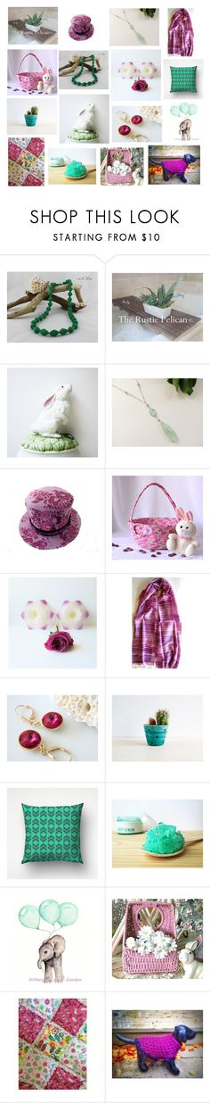 """""""Regali per Pasqua"""" by acasaconmanu ❤ liked on Polyvore featuring Gorham and Nöe"""