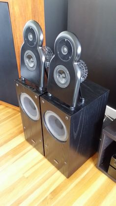 Alon 1 speakers (Nola) - Acarian Systems - made in USA - hard to find Photo #742076 - Canuck Audio Mart