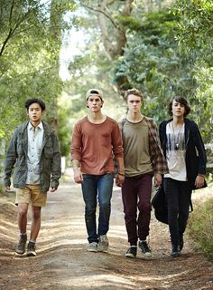 Joel Lok, Rahart Adams, Matthew Testro and Dougie Baldwin Series Movies, Tv Series, Best Series, Nowhere Boys, Movies Showing, Movies And Tv Shows, Every Witch Way, Drake And Josh, Boys Wallpaper