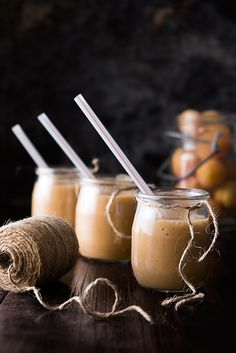 Apricot banana smoothie