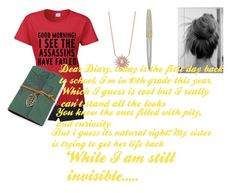 """""""Untitled #190"""" by lexilove1999 ❤ liked on Polyvore featuring Victoria's Secret and Cross"""