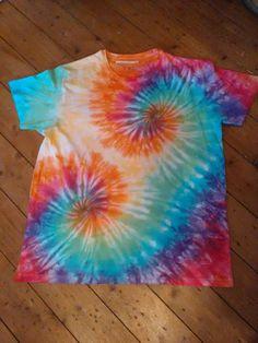 Double Spiral Tie Dye Tshirt Unisex  #tiedye #ginastiedye #tiedyeshirt #summer #festival #boho #hippy