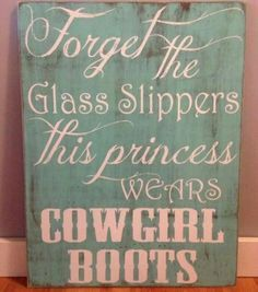 Country girl themes room