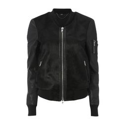 MUUBAA ATERNO BOMBER BLACK – Jessimara Motorcycle Jacket, Designers, Athletic, Zip, Jackets, Black, Fashion, Down Jackets, Moda
