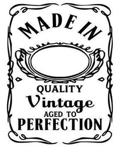 Aged to Perfection SVG File, Quote Cut File, Silhouette File, Cricut File, Vinyl Cut File Plotter Silhouette Cameo, Silhouette Cameo Projects, Silhouette Files, Silhouette Design, Silhouette Vinyl, Silhouette America, Vinyl Crafts, Vinyl Projects, Cricut Vinyl