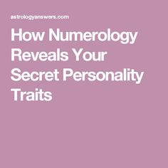 FREE Personalized Numerology Report - Calculate Life Path Number, Expression Number and Soul Urge Number Hidden In Your Numerology Chart