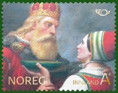 Harald Fairhair (1st King of Norway) and Snofrid Svaesdotter