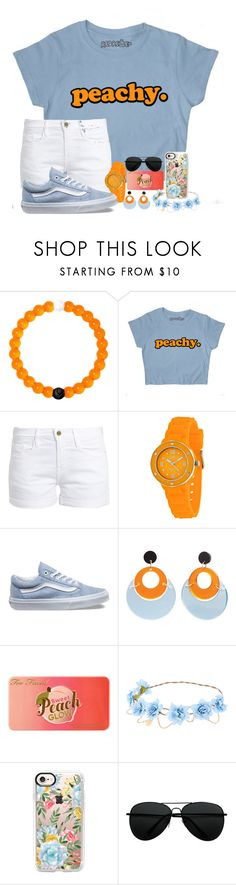 """""""you've been scared of love and what it did to you."""" by thatonelakyn ❤ liked on Polyvore featuring Lokai, Frame, Vans, Toolally, Too Faced Cosmetics and Casetify"""