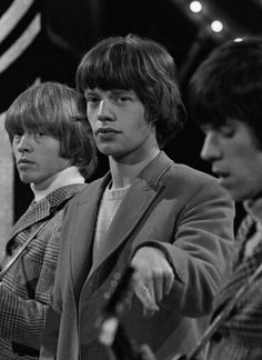 Brian Jones, Mick Jagger and Keith Richards, The Rolling Stones