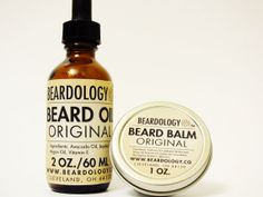 2oz Beard Oil and 1oz Beard Balm Set on Etsy, $17.95