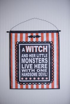 Canvas- A Witch and Her Little Monsters...