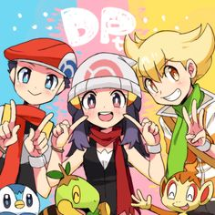 Diamond. Platinum, Pearl - Sinnoh Team -