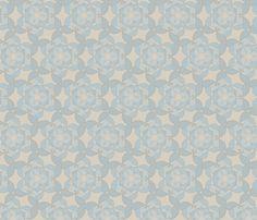 flutterpetals_ skymist fabric by glimmericks on Spoonflower - custom fabric