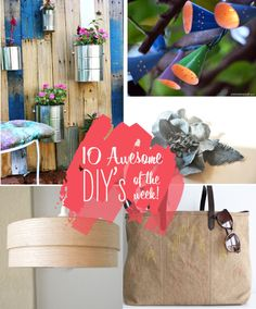 10 awesome DIYs of the week!   # Pinterest++ for iPad #