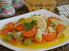 The Easiest, Light and Delicious Version of Leek: Olive Oil Leek - Germany Rezepte Turkish Recipes, Ethnic Recipes, Caprese Salad, Thai Red Curry, Olive Oil, Cake Recipes, Pasta, Vegetables, Cooking