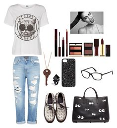 """""""#ManhattanStyle"""" by ellen2104 ❤ liked on Polyvore featuring Genetic Denim, Anya Hindmarch, Lipsy, Marc by Marc Jacobs, Macabre Gadgets, Kevyn Aucoin and Tom Ford"""