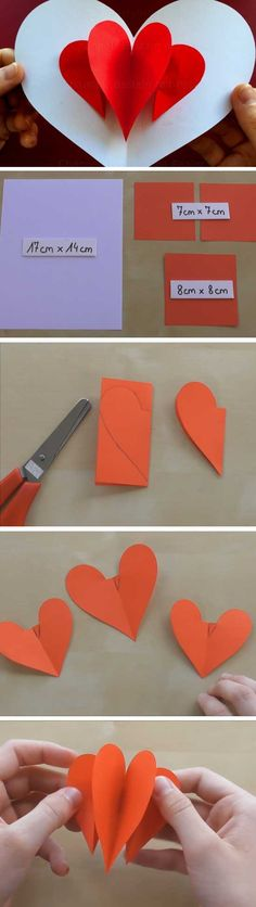 Easy Pop Up Card   DIY Valentines Cards for Him Cute Ideas