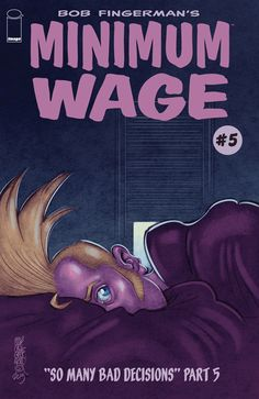 Minimum Wage #5 Image comics cover