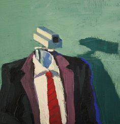 Arthur Arnold / Vigilânica Total / Acrílica sobre tela - 2012 - 15 x 15 cm