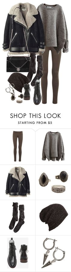 Untitled #9958 by nikka-phillips on Polyvore featuring Acne Studios, rag & bone, Polder, MANGO, H&M and AllSaints