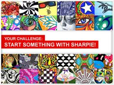Sharpie® Gallery | It's time to show off your Sharpie skills. What are you gonna start?