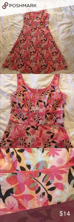AnnTaylor dress EUC. So cute for summer. Zip back. Length is 38. Ann Taylor Dresses
