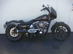Harley Davidson FXR con scarico RSD