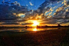 Landscape, Sunset, Laguna