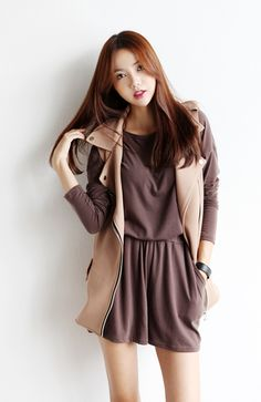Itsmestyle to look extra k-fashionista ♥ www.itsmestyle.com #fashion #kfashion #asianstyle #itsmestyle #korean #kpop #womens fashion #lovely #cute #ulzzang #coat #jacket #leggings #pants #shoes #chic #dress #lovely #skirt