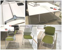 Wilkhahn folding tables and chairs at #Orgatec2016