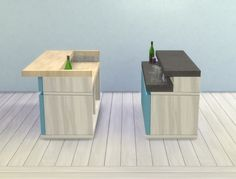 Counter Slurp Bars by plasticbox at Mod The Sims • Sims 4 Updates