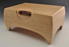 Tiger Maple Keepsake Box - by Greg The Cajun Box Sculptor @ LumberJocks.com ~ woodworking community