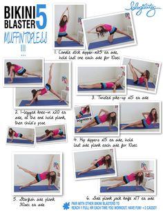 bikini blaster | ❤ BLOGILATES ❤