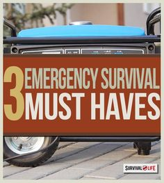 3 Must-Haves for Disaster Mitigation at Home