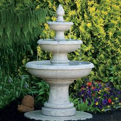 "50"" Three Tier Picasso Fountain LO3627"