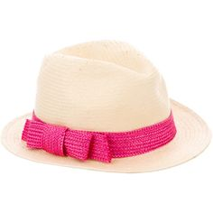 Pre-owned Kate Spade New York Tan Straw Fedora ($50) ❤ liked on Polyvore featuring accessories, hats, neutrals, straw fedora, tan fedora, fedora hats, straw hats and tan hat