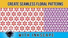 🆕Inkscape Pattern Design 🏽👉🏾 Making Patterns In Inkscape | Floral Pattern Inkscape Tutorials, Pattern Design, Patterns, Learning, Create, Floral, Block Prints, Florals, Study